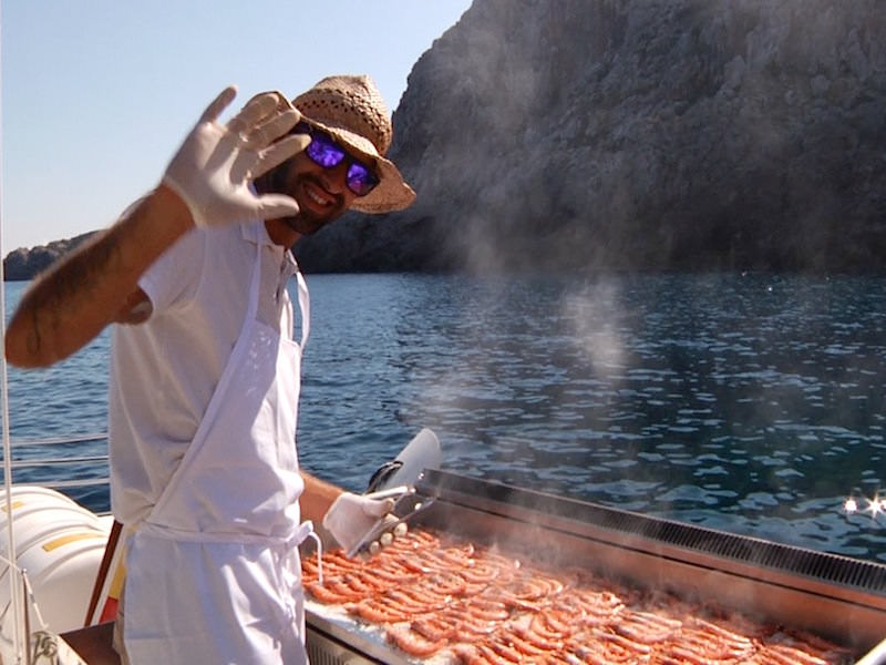 Catamaran BBQ
