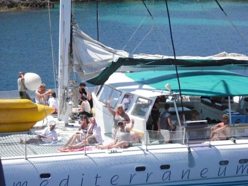 catamaran von oben